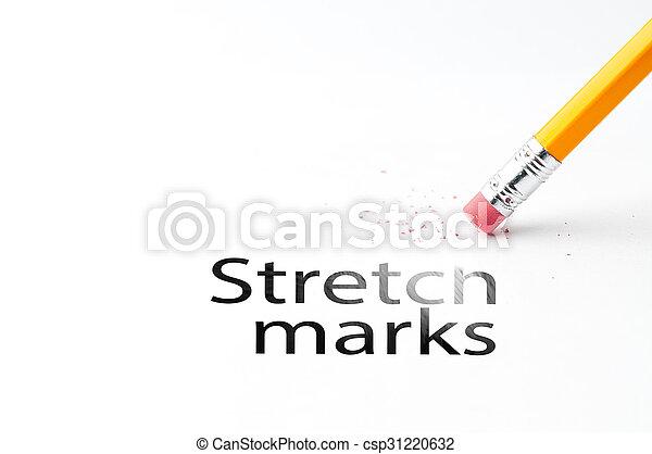 Pencil with eraser - csp31220632