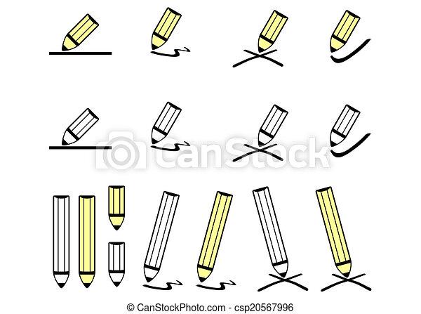 Pencils - csp20567996