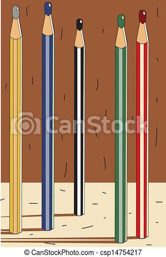 pencils - csp14754217