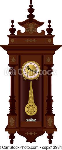 Pendulum clock - csp2139348