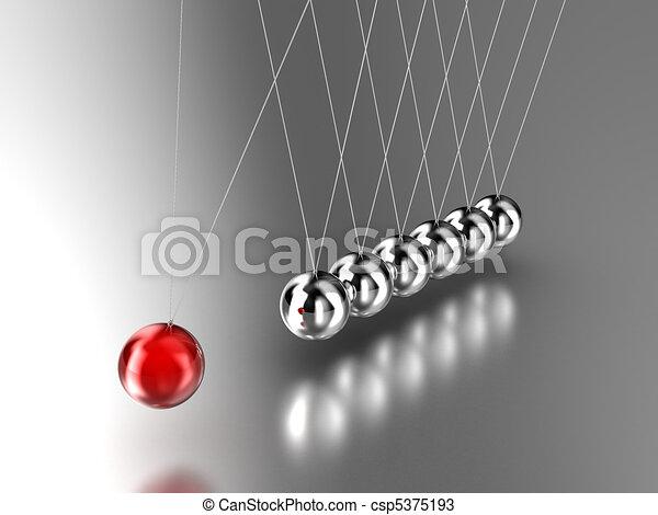 Pendulum - csp5375193