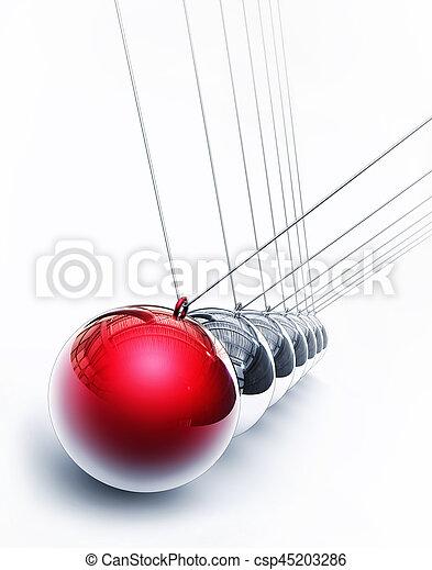 pendulum - csp45203286