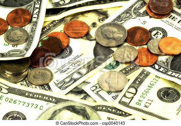 pengar, bakgrund - csp0040143