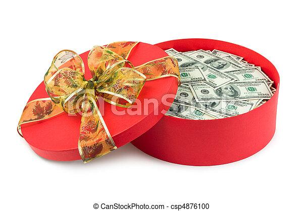 pengar, gåva - csp4876100
