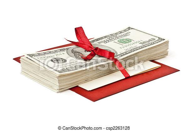 pengar, gåva - csp2263128