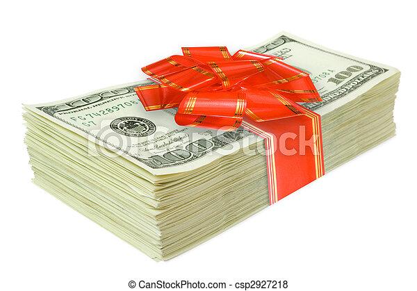 pengar, gåva - csp2927218