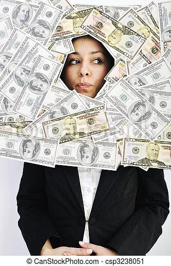 pengar, money... - csp3238051
