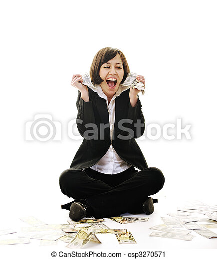 pengar, money... - csp3270571