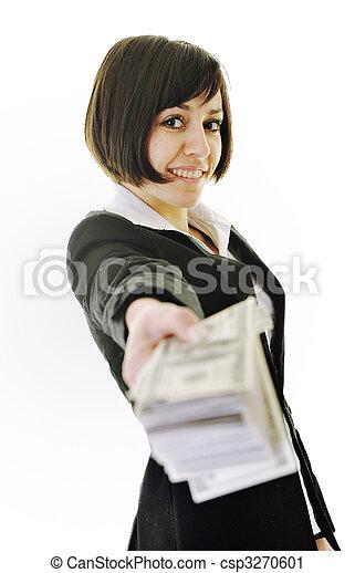 pengar, money... - csp3270601