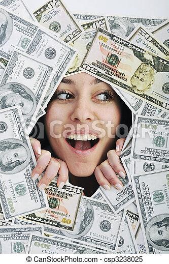 pengar, money... - csp3238025