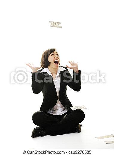 pengar, money... - csp3270585