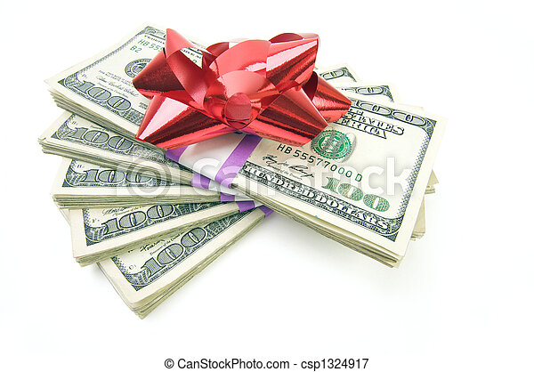 pengar, stack, bog - csp1324917