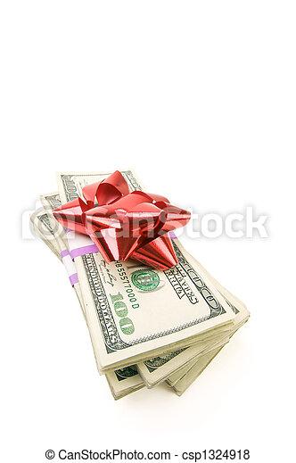 pengar, stack, bog - csp1324918