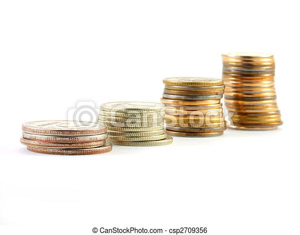 pengar, stack - csp2709356