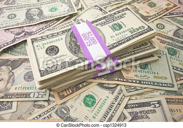 pengar, stack - csp1324913