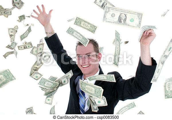 penge, branche mand - csp0083500
