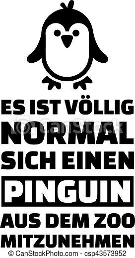 Penguin slogan - csp43573952