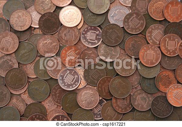 Pennies - csp1617221