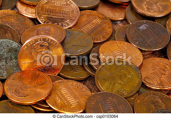 Pennies - csp0103064