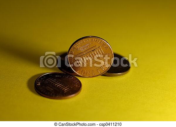 Pennies - csp0411210