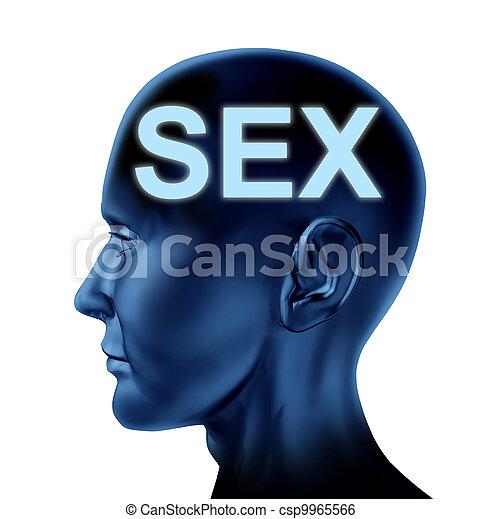 pensée, sexe - csp9965566