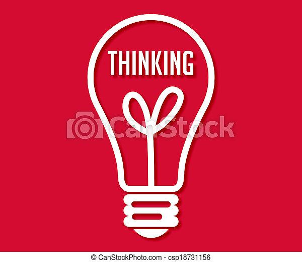 Pensando - csp18731156