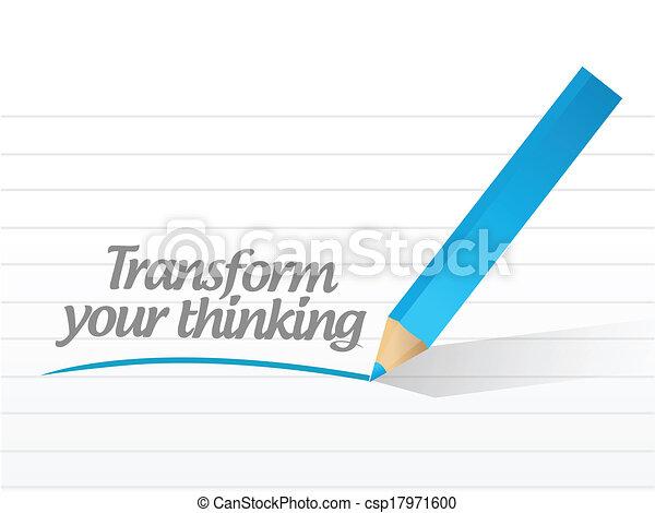 Transforma tu ilustración de mensajes - csp17971600