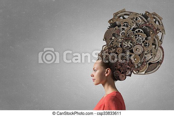 Mecanismos de procesos de pensamiento - csp33833611