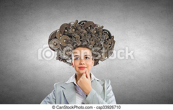 Mecanismos de procesos de pensamiento - csp33926710