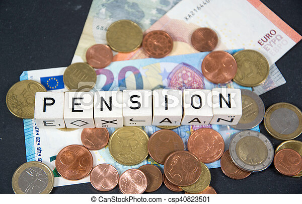 pension - csp40823501