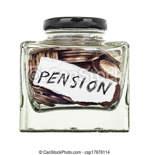 pension - csp17976114