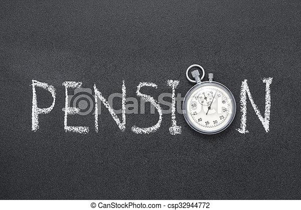 pension - csp32944772