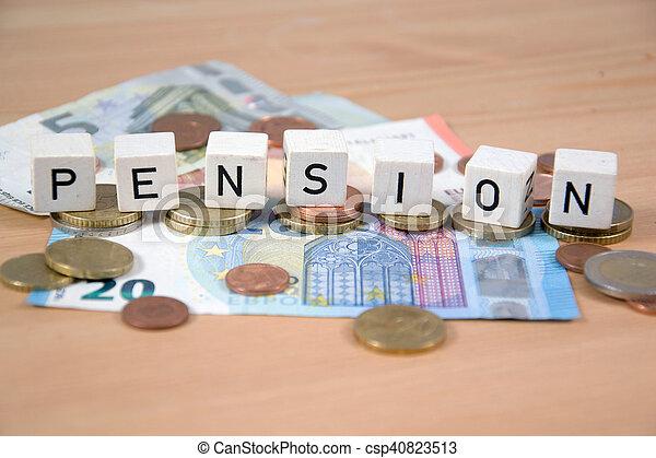 pension - csp40823513