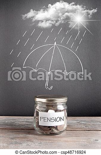 pension - csp48716924