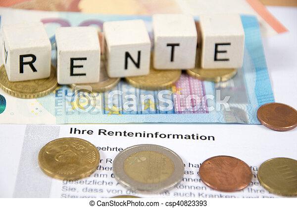 pension - csp40823393