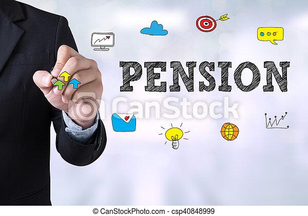 pension - csp40848999