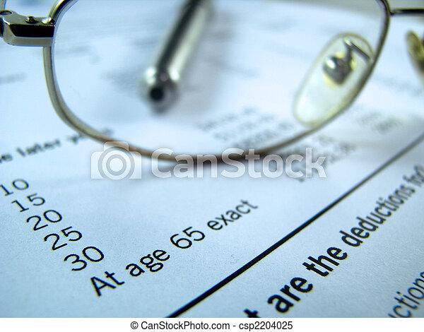 pension, plan - csp2204025