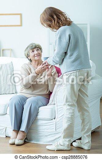 pensionato, lei, carer, femmina - csp28885076