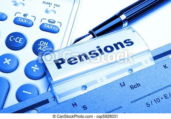 pensions - csp5928031