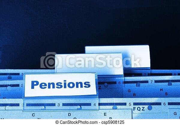 pensions - csp5908125