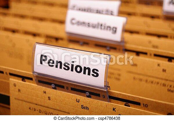 pensions - csp4786438