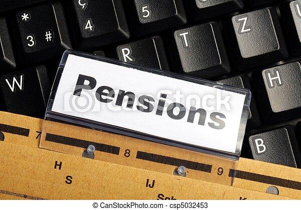 pensions - csp5032453