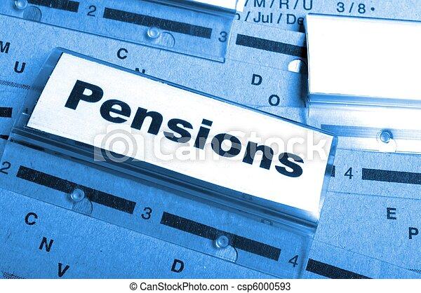 pensions - csp6000593