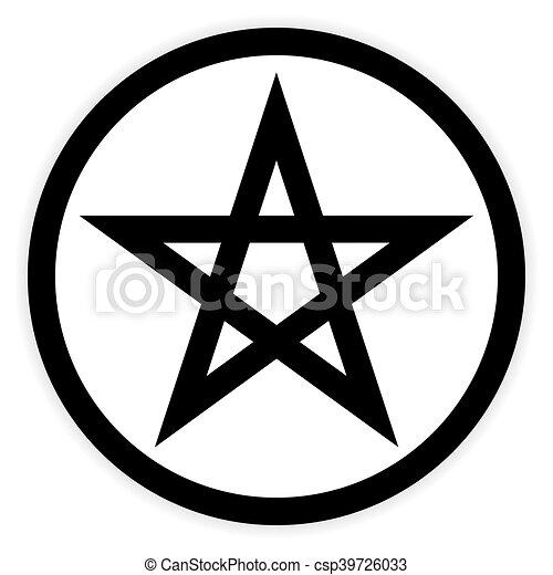 pentagram button on white pentagram button on white vectors rh canstockphoto co uk pentagram vector file pentagram vector download