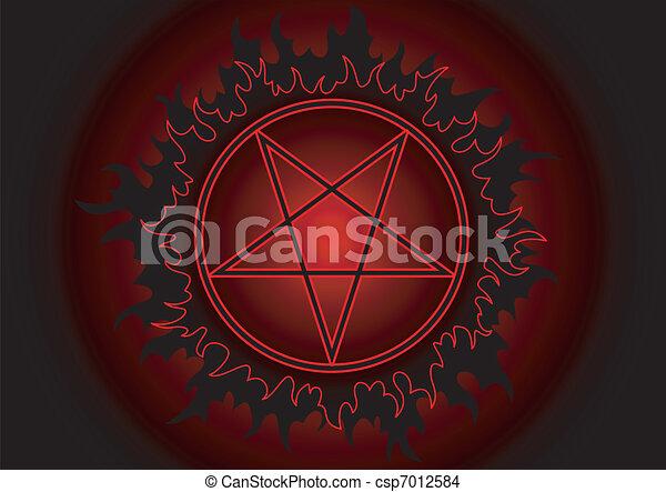 Pentagram - csp7012584