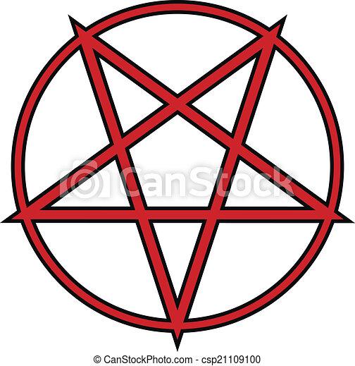 pentagram icon on white background vector illustration vector rh canstockphoto ie pentagram vector art pentagram vector art