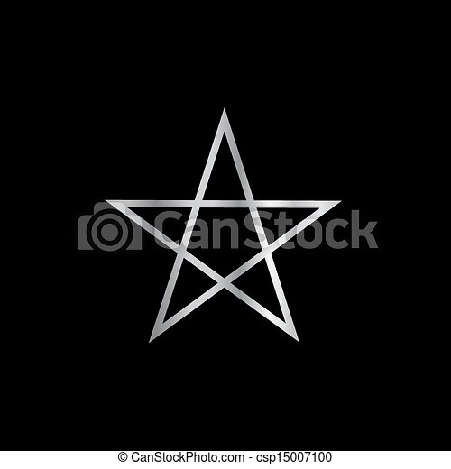 Pentagram Religious Symbol Satan Pentagram Religious Vector