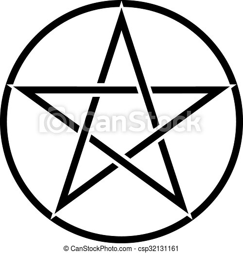 pentagram symbol star sign with magic evil spiritual symbol clip rh canstockphoto com spiritual clip art free download spiritual clipart images
