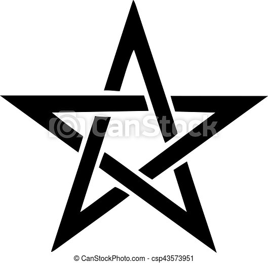 pentagram symbol clipart vector search illustration drawings and rh canstockphoto com pentagram vector free download pentagram vector art