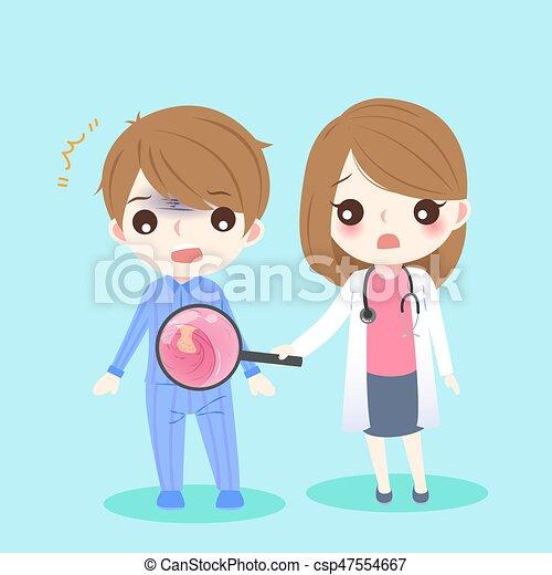 people and intestine - csp47554667